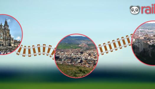 A Cuenca, Puertollano y Santiago de Compostela en AVE